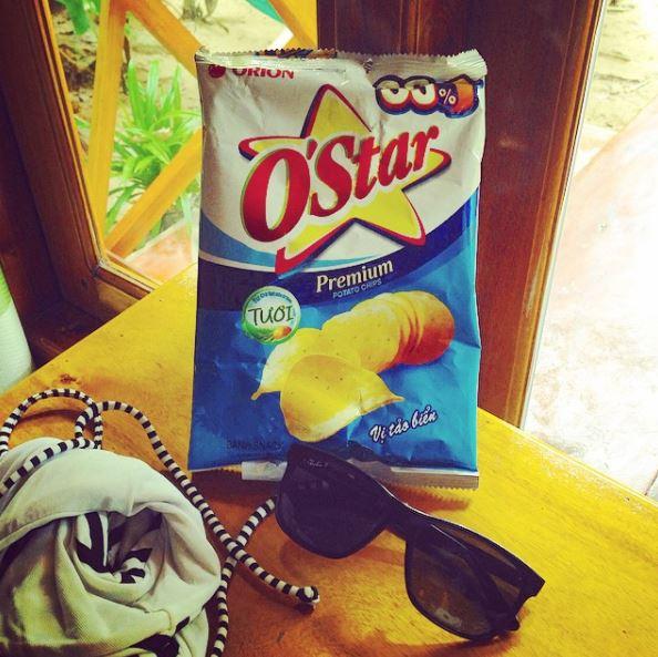Orion O'star Potato Chips - Vietnam