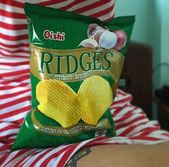 Oishi Ridges Potato Chips